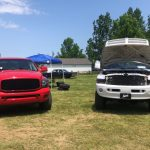 THE TRUCKS AT MOPARS IN THE PARK 2019